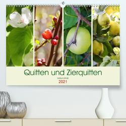 Quitten und Zierquitten (Premium, hochwertiger DIN A2 Wandkalender 2021, Kunstdruck in Hochglanz) von Kruse,  Gisela