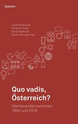 Quo vadis, Österreich? von Aichholzer,  Julian, Friesl,  Christian, Hajdinjak,  Sanja, Kritzinger,  Sylvia
