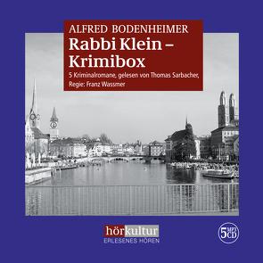 Rabbi Klein-Krimibox von Bodenheimer,  Alfred, Sarbacher,  Thomas, Wassmer,  Franz