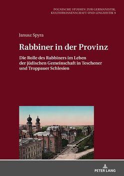 Rabbiner in der Provinz von Spyra,  Janusz