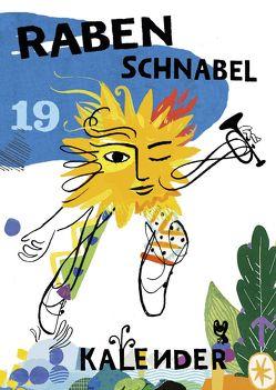 Rabenschnabel Kalender 2019 von von Boxberg,  achim