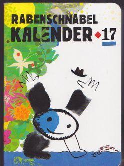 Rabenschnabel Kalender 2017 von von Boxberg,  achim