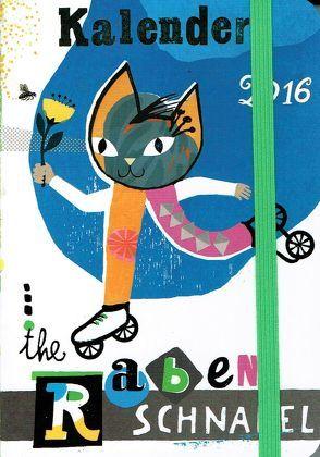 Rabenschnabel Taschenkalender 2016 von Akkordeon,  Pètrus, Ehninger,  Elke, von Boxberg,  achim