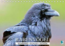 Rabenvögel: Schwarz, schlau, schön (Tischkalender 2019 DIN A5 quer) von CALVENDO