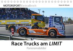 Race Trucks am LIMIT Panoramabilder (Tischkalender 2019 DIN A5 quer) von Wilczek & Michael Schweinle,  Dieter-M.