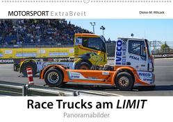 Race Trucks am LIMIT Panoramabilder (Wandkalender 2019 DIN A2 quer) von Wilczek & Michael Schweinle,  Dieter-M.