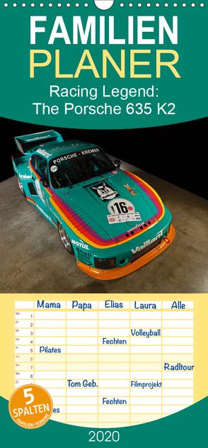Racing Legend: The Porsche 635 K2 – Familienplaner hoch (Wandkalender 2020 , 21 cm x 45 cm, hoch) von Bau,  Stefan