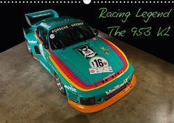 Racing Legend: The Porsche 635 K2 (Wandkalender 2018 DIN A3 quer) von Bau,  Stefan