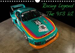 Racing Legend: The Porsche 635 K2 (Wandkalender 2021 DIN A4 quer) von Bau,  Stefan