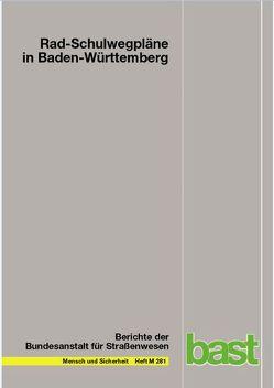 Rad-Schulwegpläne in Baden-Württemberg von Neumann-Opitz,  Nicola