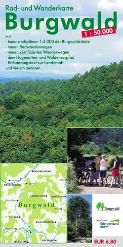 Rad- und Wanderkarte Burgwald 1:50.000 von Münzer,  Lutz