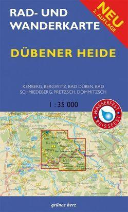 Rad- und Wanderkarte Dübener Heide