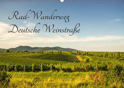 Rad-Wanderweg Deutsche Weinstraße (Wandkalender 2018 DIN A2 quer) von Fietz,  Günter