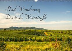 Rad-Wanderweg Deutsche Weinstraße (Wandkalender 2018 DIN A3 quer) von Fietz,  Günter