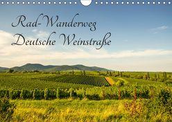 Rad-Wanderweg Deutsche Weinstraße (Wandkalender 2018 DIN A4 quer) von Fietz,  Günter