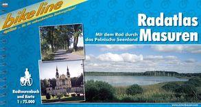 Radatlas Masuren von Esterbauer Verlag