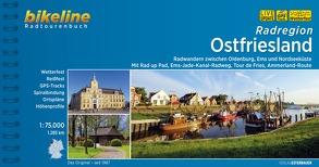 Radatlas Ostfriesland von Esterbauer Verlag