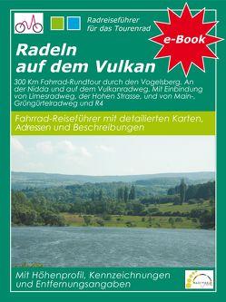Radeln auf dem Vulkan von Vogt,  Hans P