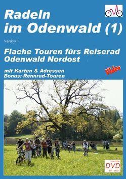 Radeln im Odenwald Nordwest (1) von Vogt,  Hans P
