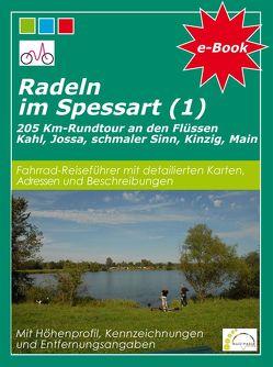 Radeln im Spessart (1) von Vogt,  Hans-Peter