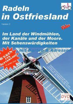 Radeln in Ostfriesland von Vogt,  Hans P