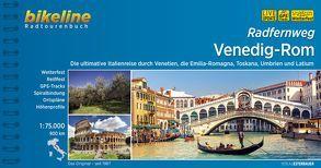 Radfernweg Venedig-Rom von Esterbauer Verlag