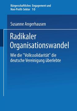Radikaler Organisationswandel von Angerhausen,  Susanne