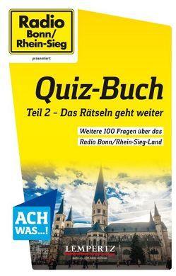 Radio Bonn/Rhein-Sieg Quiz-Buch von Jaworek,  Sven