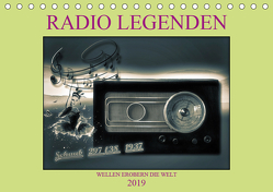 RADIO LEGENDEN (Tischkalender 2019 DIN A5 quer) von Voßen - Herzog von Laar am Rhein,  W.W.