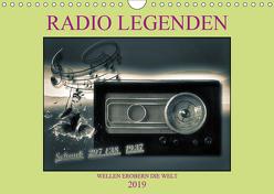 RADIO LEGENDEN (Wandkalender 2019 DIN A4 quer) von Voßen - Herzog von Laar am Rhein,  W.W.