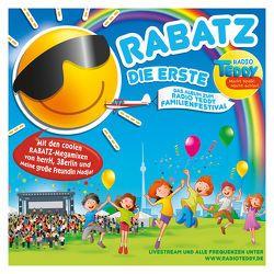 Radio TEDDY – RABATZ DIE ERSTE von 3Berlin, Deine Freunde, Nena, Rosin,  Volker, u.v.a., Zuckowski,  Rolf