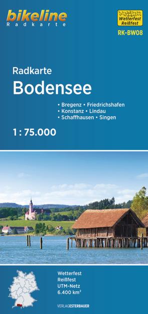 Radkarte Bodensee (RK-BW08) von Esterbauer Verlag