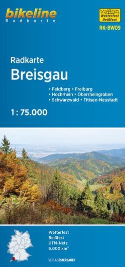 Radkarte Breisgau (RK-BW09) von Esterbauer Verlag