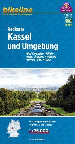 Radkarte Kassel und Umgebung (RK-HES01) von Esterbauer Verlag