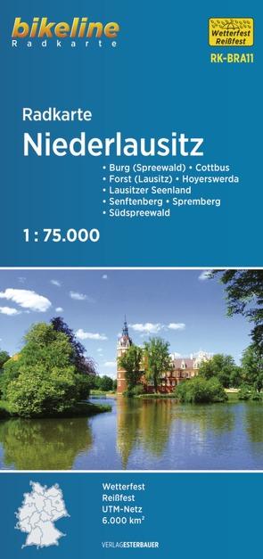 Radkarte Niederlausitz (RK-BRA11) von Esterbauer Verlag