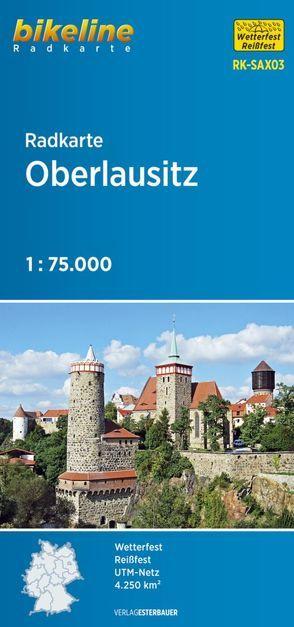 Radkarte Oberlausitz (RK-SAX03) von Esterbauer Verlag