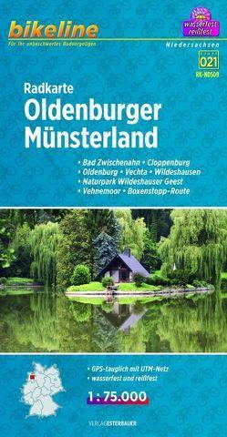 Radkarte Oldenburger Münsterland (RK-NDS09) von Esterbauer Verlag