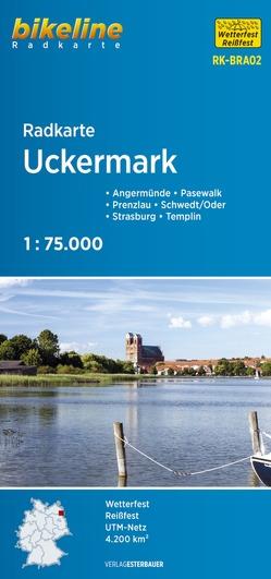 Radkarte Uckermark (RK-BRA02) von Esterbauer Verlag