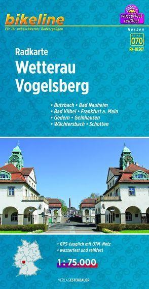 Radkarte Wetterau Vogelsberg (RK-HES07) von Esterbauer Verlag