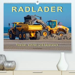 Radlader – flexibel, schnell und bärenstark (Premium, hochwertiger DIN A2 Wandkalender 2020, Kunstdruck in Hochglanz) von Roder,  Peter
