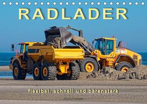 Radlader – flexibel, schnell und bärenstark (Tischkalender 2020 DIN A5 quer) von Roder,  Peter