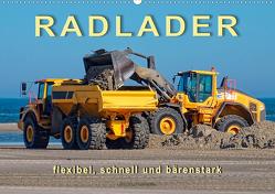 Radlader – flexibel, schnell und bärenstark (Wandkalender 2020 DIN A2 quer) von Roder,  Peter