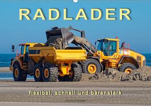 Radlader – flexibel, schnell und bärenstark (Wandkalender 2021 DIN A2 quer) von Roder,  Peter