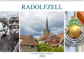 Radolfzell – schmucke Stadt am Bodensee (Wandkalender 2018 DIN A2 quer) von Brunner-Klaus,  Liselotte