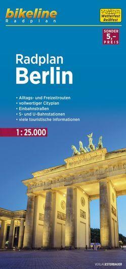 Radplan Berlin von Esterbauer Verlag