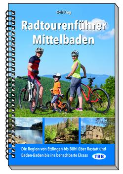 Radtourenführer Mittelbaden von Krög,  Rolf
