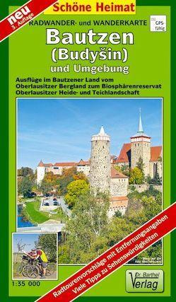 Radwander- und Wanderkarte Bautzen und Umgebung