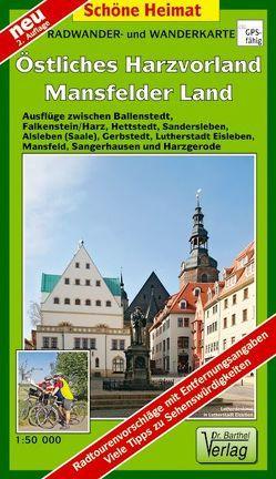 Radwander- und Wanderkarte Östliches Harzvorland Mansfelder Land