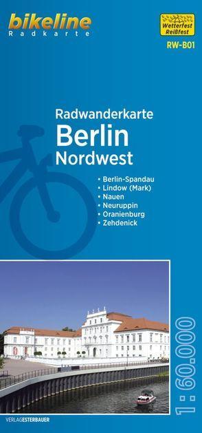 Radwanderkarte Berlin Nordwest RW-B01 von Esterbauer Verlag