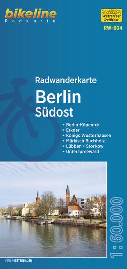 Radwanderkarte Berlin Südost RW-B04 von Esterbauer Verlag